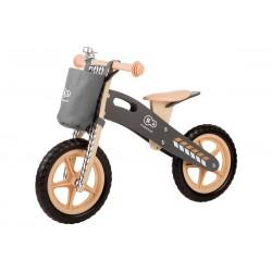 Rowerek biegowy KINDERKRAFT Runner Nature z akcesoriami