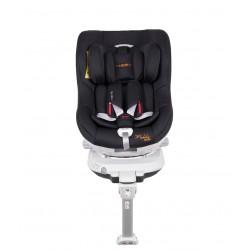 Fotelik Coletto Mokka Isofix 0-18 kg obrotowy 360 stopni - Black