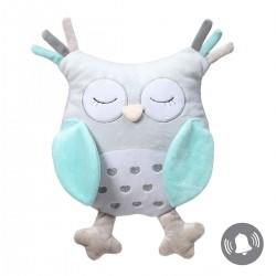 Przytulanka dla niemowląt 30 cm Owl Sofia BabyOno 441 - turkusowa