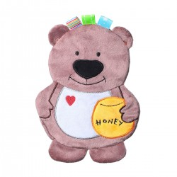 Przytulanka dla niemowląt 22,5 cm Flat Bear Todd BabyOno 447
