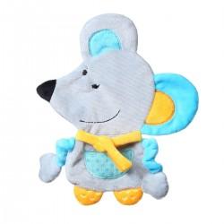 Przytulanka dla niemowląt 22 cm Flat Mouse Kirstin BabyOno 445