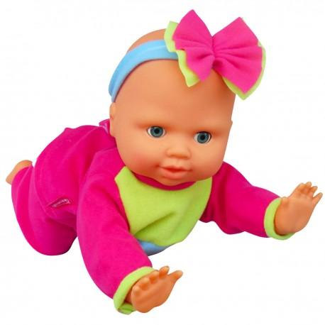 Lalka Bambolina raczkująca od 36m+ Smily Play BD1462 - 40 cm