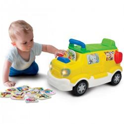 Edukacyjne Auto Jeździk Safari Smily Play 000864