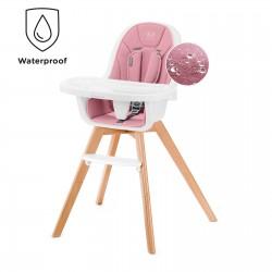 Krzesełko do karmienia KINDERKRAFT Tixi - różowe