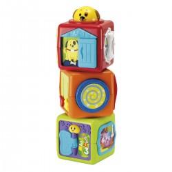 Wieża z klocków 3m+ Smily Play 000613