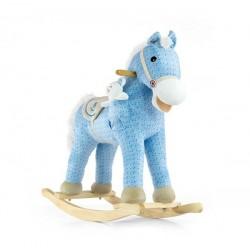 Bujak na biegunach MILLY MALLY - Koń Pony blue