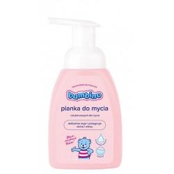 Pianka do mycia ciała i włosów niemowląt Bambino 250 ml