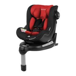 Fotelik Baby-Safe Rhodesian Isofix 0-18 kg - czerwono-czarny