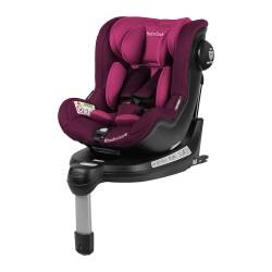 Fotelik Baby-Safe Rhodesian Isofix 0-18 kg - różowo-fioletowy