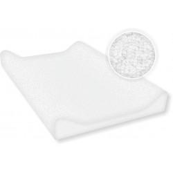 Pokrycie frotte na przewijak 50x70 cm Ty i My - białe