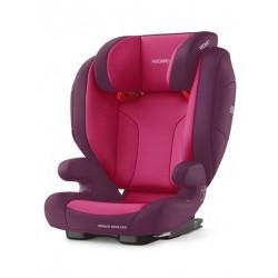 Fotelik Recaro Monza Nova Seatfix 15-36 kg - Core Power Berry