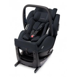 Fotelik Recaro Salia Elite i-Size obrotowy od 40 do 105 cm (0-18kg) - Select Night Black