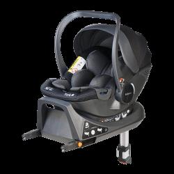 Fotelik Baby-Safe York i-Size 0-13 kg z bazą Isofix - szaro-czarny