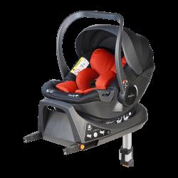 Fotelik Baby-Safe York i-Size 0-13 kg z bazą Isofix - czerwono-czarny