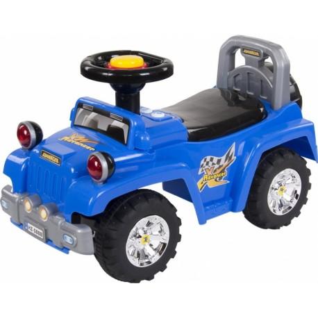 Jeździdło Sun Baby Jeep - niebieski