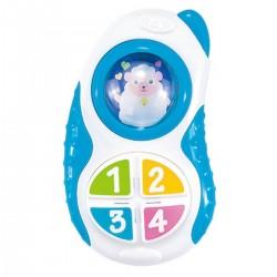 Telefon od 6m+ Smily Play 83122 - niebieski