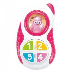 Telefon od 6m+ Smily Play 83123 - różowy