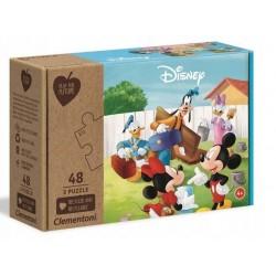 Moje Puzzle Myszka Miki od 48m+ Clementoni 25256 - 3x48 elementów