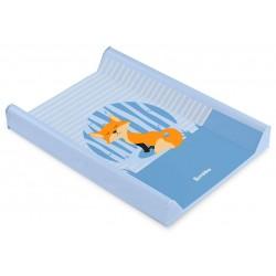 Przewijak nadstawka krótka twarda 50x70 cm Sensillo Lovely Friends - Lis niebieski