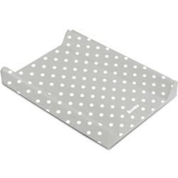 Przewijak nadstawka krótka twarda 50x70 cm Sensillo Patterns - Kropki szary