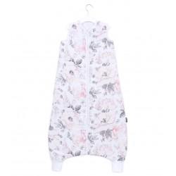 Śpiworek muślinowy z nogawkami Mamo-Tato rozmiar L Peonie