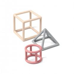Edukacyjne gryzaki Geometric BabyOno 514/02