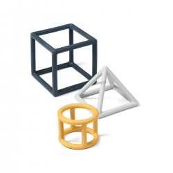 Edukacyjne gryzaki Geometric BabyOno 514/01