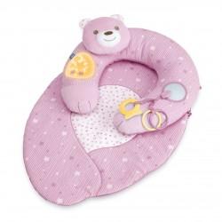 Gniazdko z poduszką First Dreams Chicco - różowe