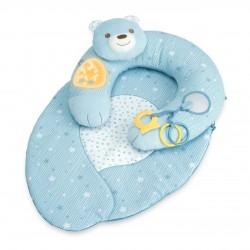 Gniazdko z poduszką First Dreams Chicco - niebieskie