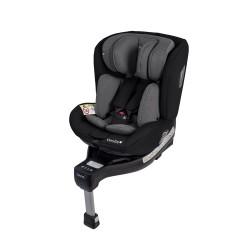 Fotelik Baby-Safe Westie Isofix 0-18 kg - szaro-czarny