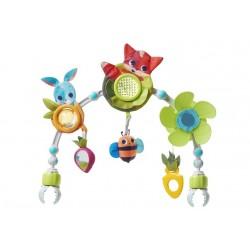 Łuk muzyczny z zabawkami Zabawa na Łące Tiny Love
