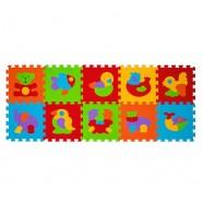 Puzzle podłogowe 6m+ BabyOno 276 Zwierzęta - 10 szt