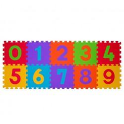 Puzzle podłogowe 6m+ BabyOno 274 Cyfry - 10 szt