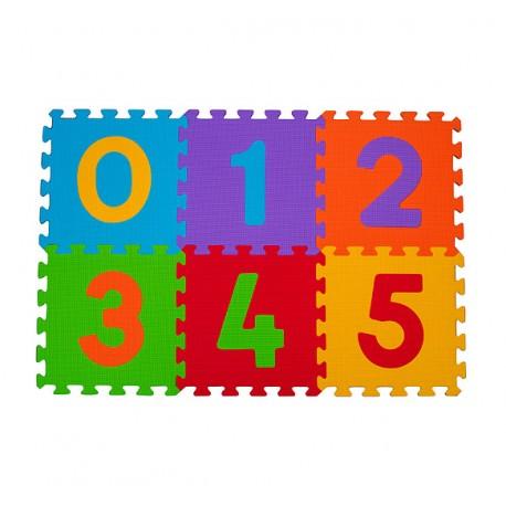 Puzzle podłogowe BabyOno 275 Cyfry