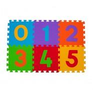 Puzzle podłogowe 6m+ BabyOno 275 Cyfry - 6 szt