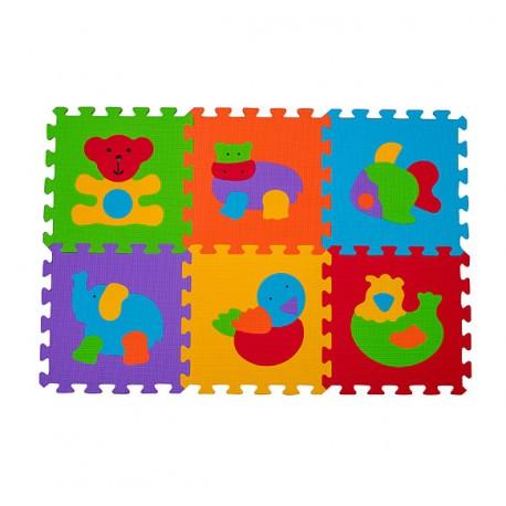 Puzzle podłogowe BabyOno 277 Zwierzęta