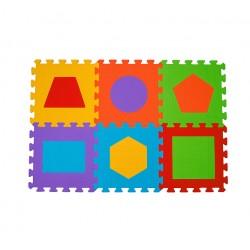 Puzzle podłogowe 6m+ BabyOno 279 Figury - 6 szt