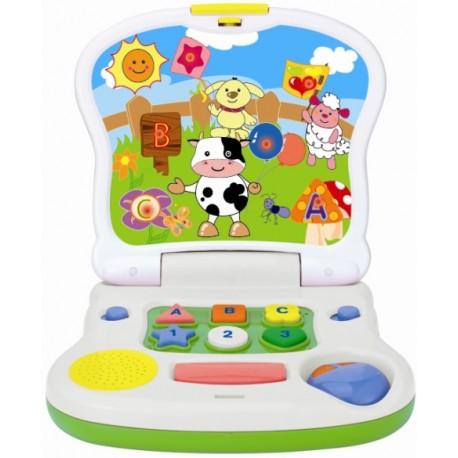 Mój Pierwszy Laptop Krówka 12m+ Smily Play 8071