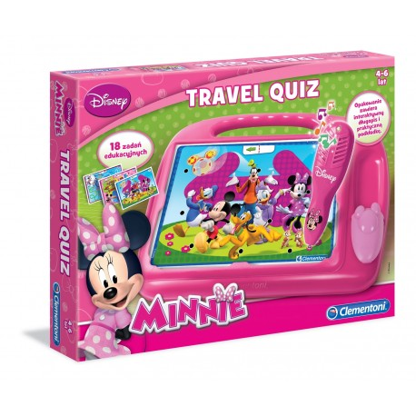Gra Travel Quiz Minnie Clementoni 60239