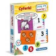Gra Cyferki od 3 lat Clementoni 60042