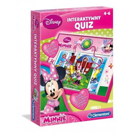 Gra Interaktywny Quiz Minnie od 4 lat Clementoni 60061