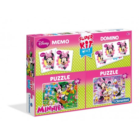 Puzzle Super Kit Minnie  od 4 lat Clementoni 08205