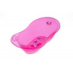 Wanienka 86 cm Tega Baby AQ-004 Aqua transparentna - różowa