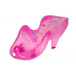 Fotelik leżaczek do kąpieli Tega Baby Aqua - różowy