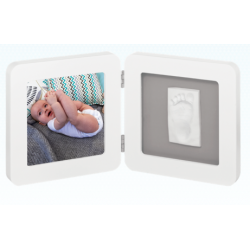 My Baby Touch Rounded Frame - White