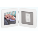 My Baby Touch Rounded Frame Baby Art - White