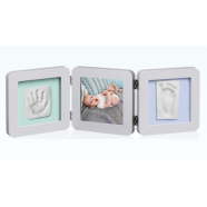 My Baby Touch Rounded Double Frame - Pastel