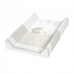 Przewijak krótki twardy 50x70 cm Albero Mio by Klupś - Misiowe Sny 185 beżowy