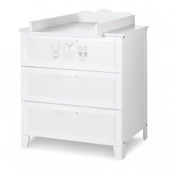 Zestaw mebli Klupś Marsell - łóżko-tapczan 140x70 cm