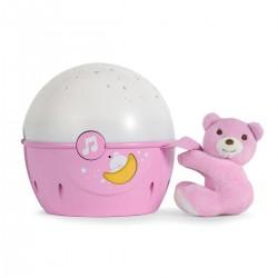 Projektor na łóżeczko od 0m+ Next2Stars Chicco - różowy